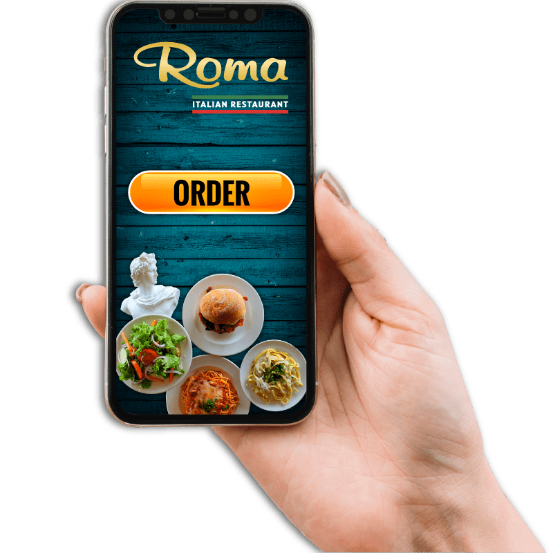 Handheld Right - Roma Italian Restaurant