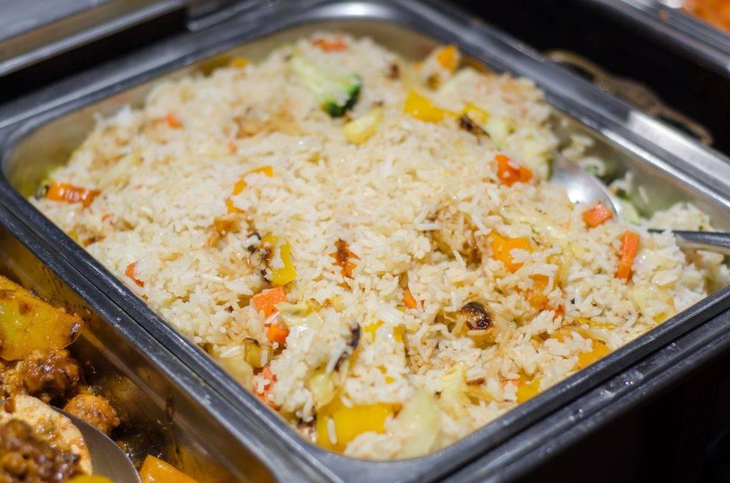 Vegetable Rice - Roma Italian Restaurant